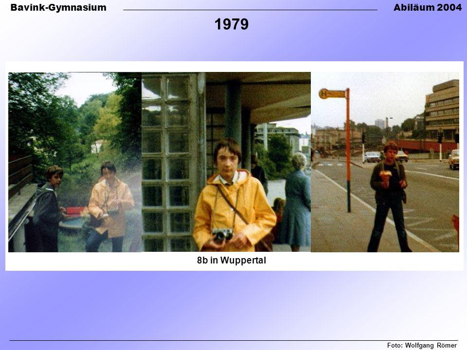 1979 8b in Wuppertal Foto: Wolfgang Römer