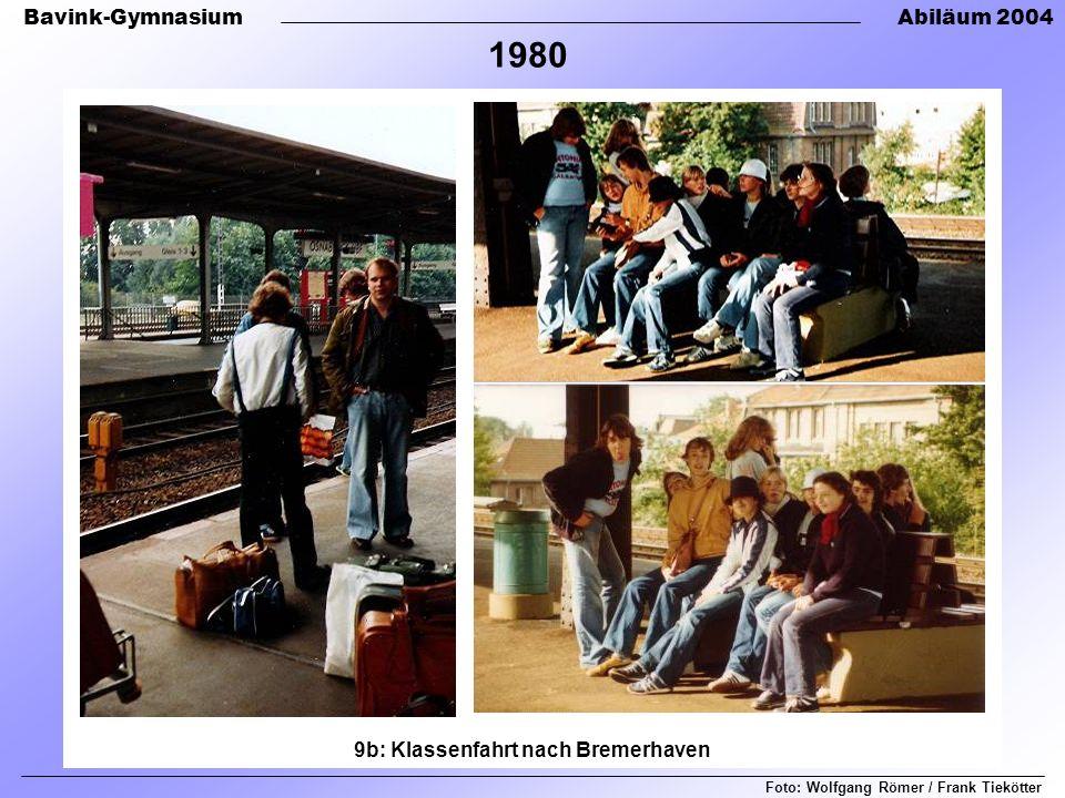 9b: Klassenfahrt nach Bremerhaven