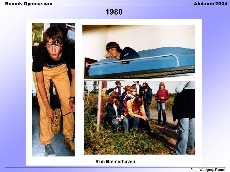 1980 9b in Bremerhaven Foto: Wolfgang Römer