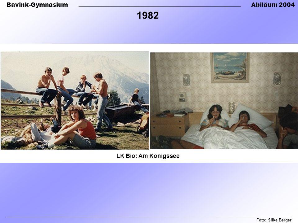 1982 LK Bio: Am Königssee Foto: Silke Berger