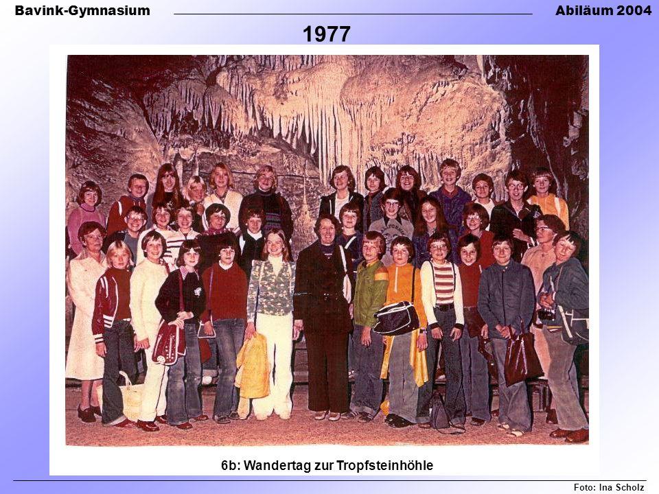 6b: Wandertag zur Tropfsteinhöhle