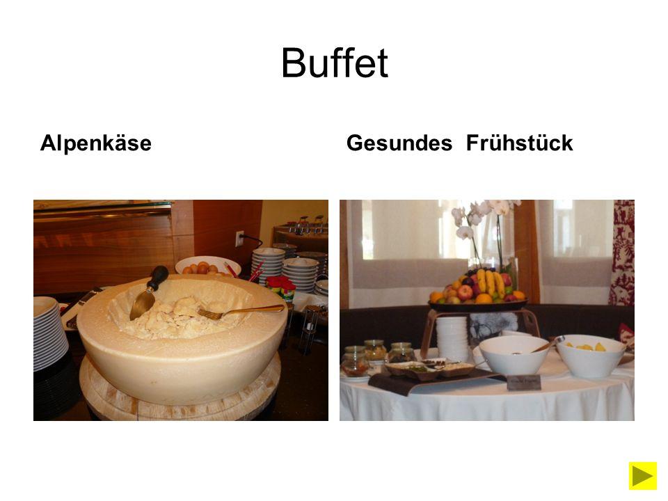 Buffet Alpenkäse Gesundes Frühstück