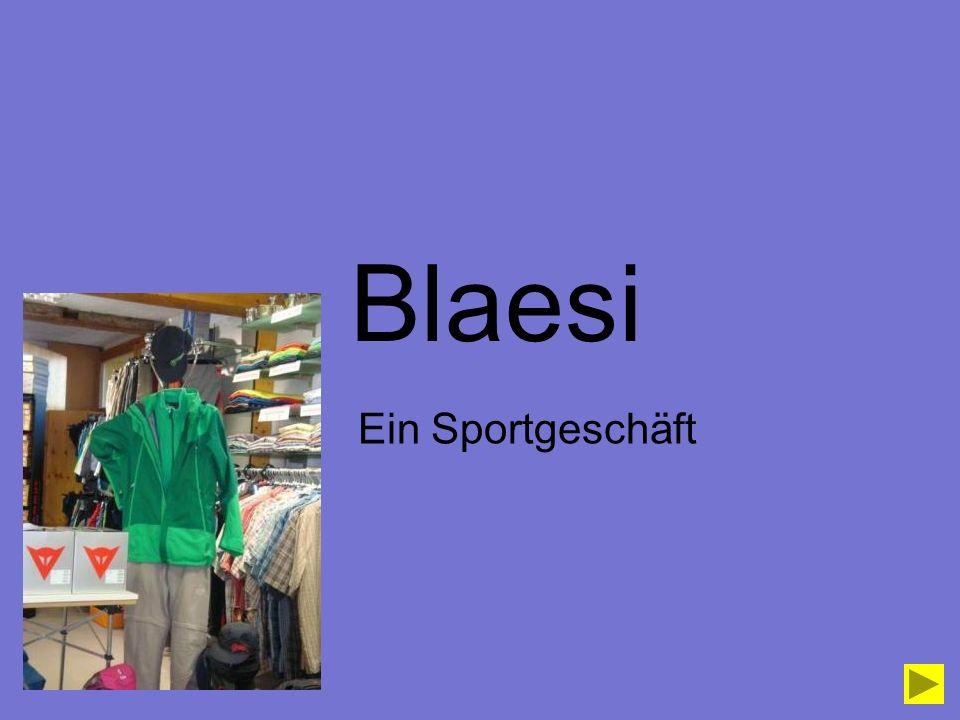Blaesi Ein Sportgeschäft