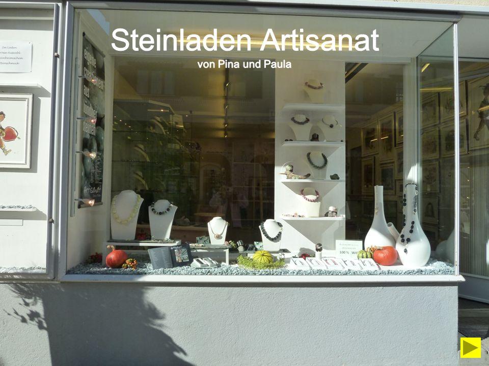 Steinladen Artisanat von Pina und Paula
