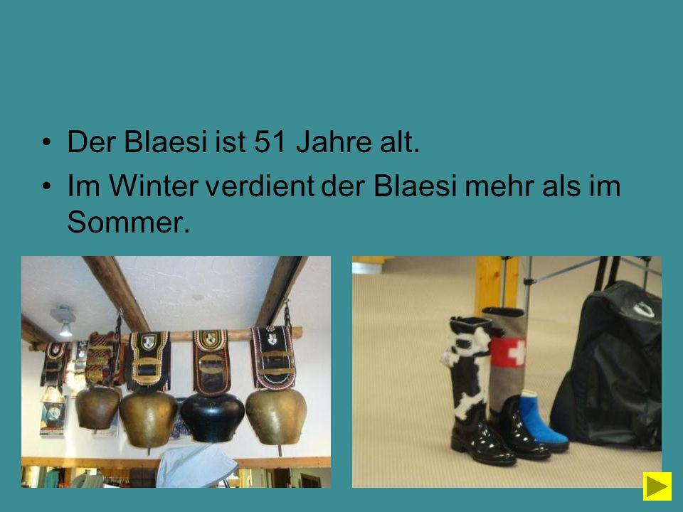 Der Blaesi ist 51 Jahre alt.