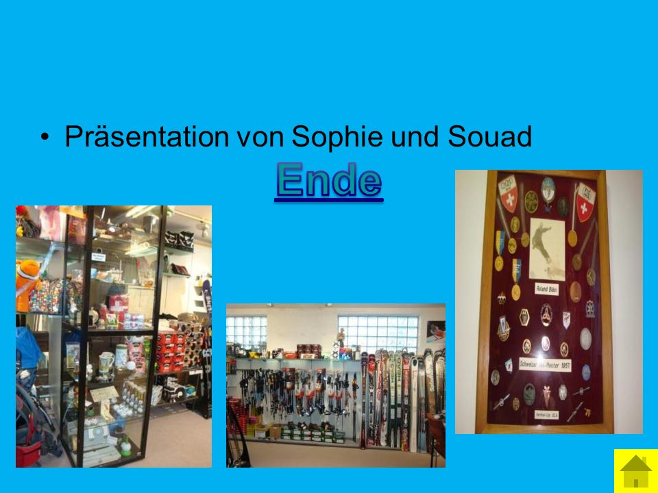 Präsentation von Sophie und Souad