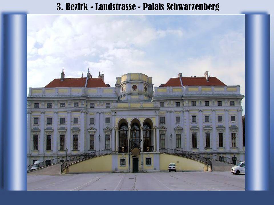 3. Bezirk - Landstrasse - Palais Schwarzenberg