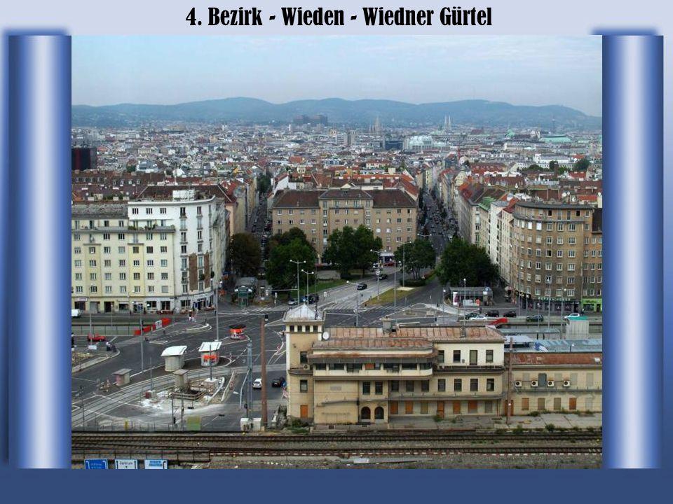 4. Bezirk - Wieden - Wiedner Gürtel