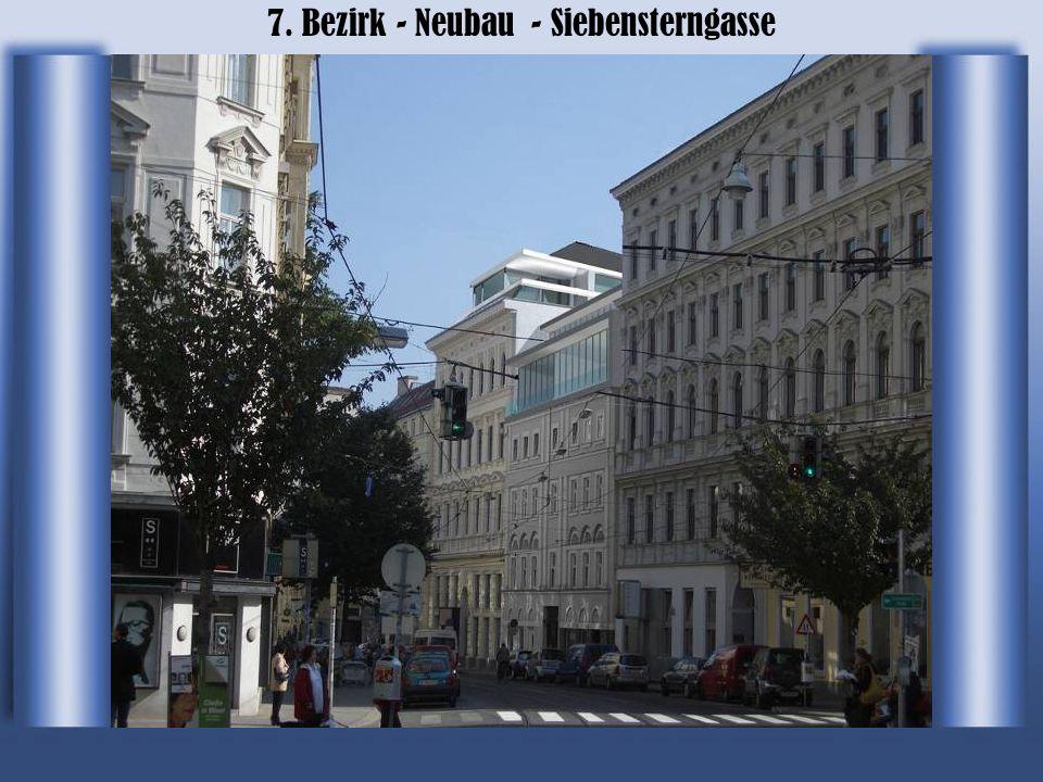 7. Bezirk - Neubau - Siebensterngasse