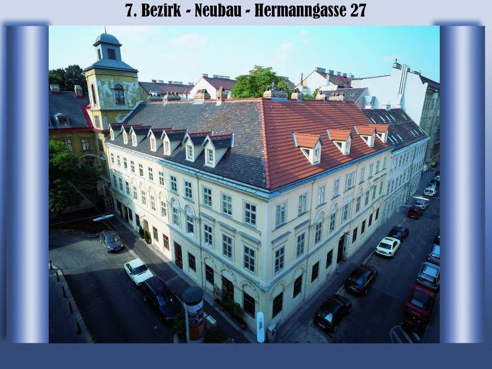 7. Bezirk - Neubau - Hermanngasse 27