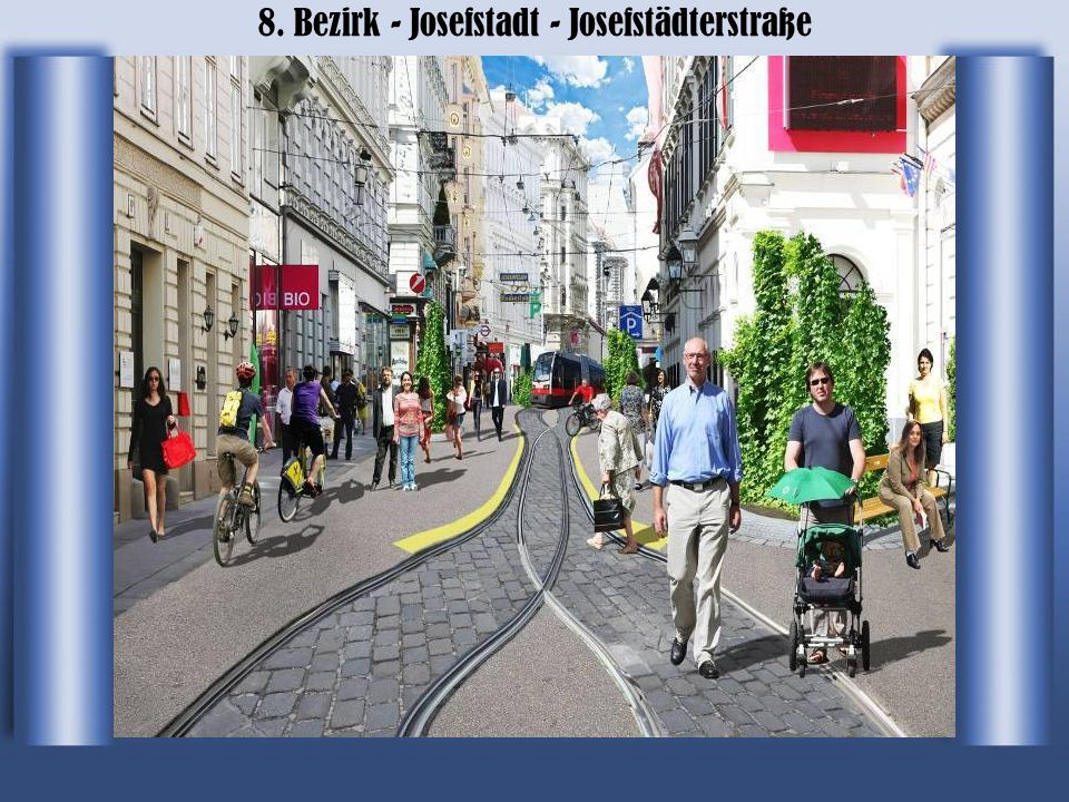 8. Bezirk - Josefstadt - Josefstädterstraße
