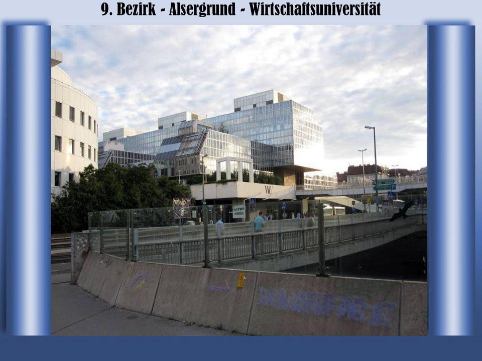 9. Bezirk - Alsergrund - Wirtschaftsuniversität