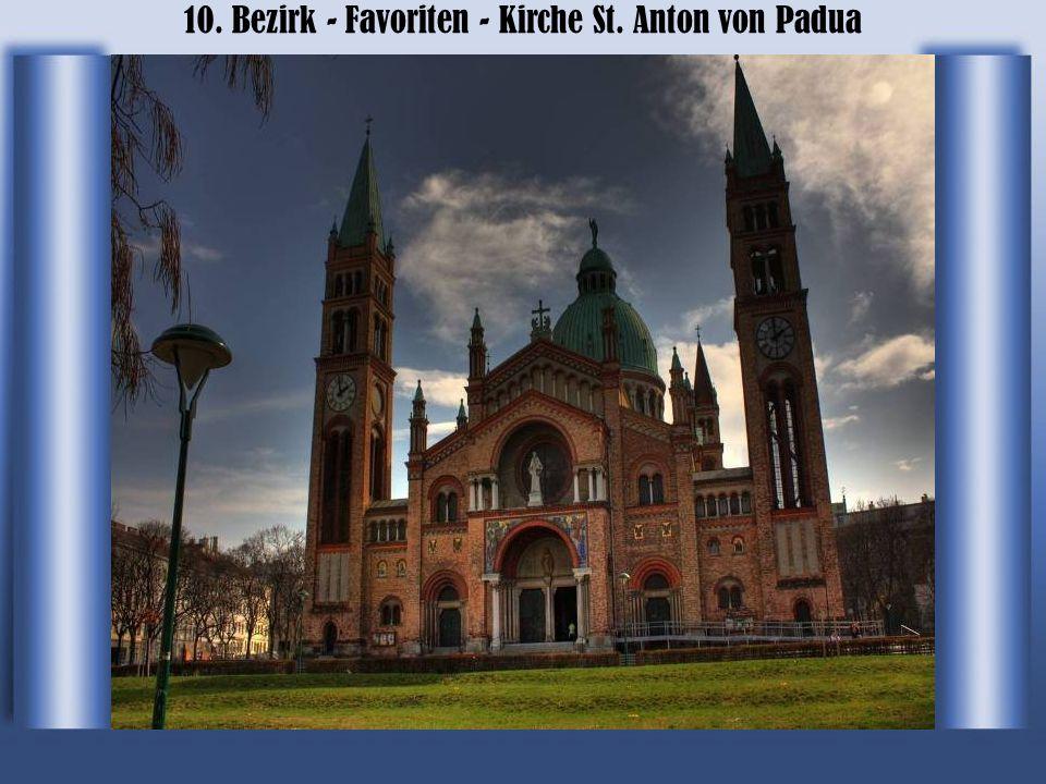 10. Bezirk - Favoriten - Kirche St. Anton von Padua