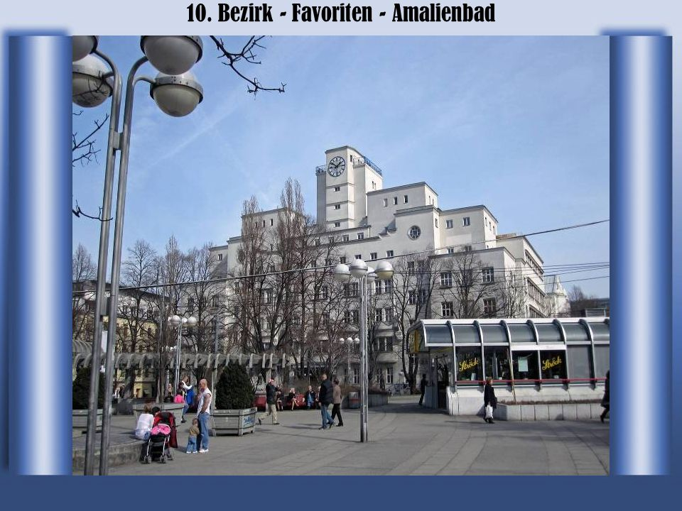10. Bezirk - Favoriten - Amalienbad