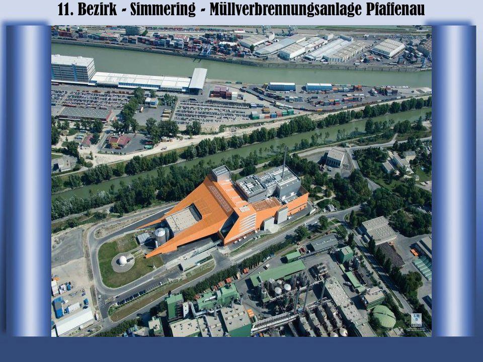 11. Bezirk - Simmering - Müllverbrennungsanlage Pfaffenau
