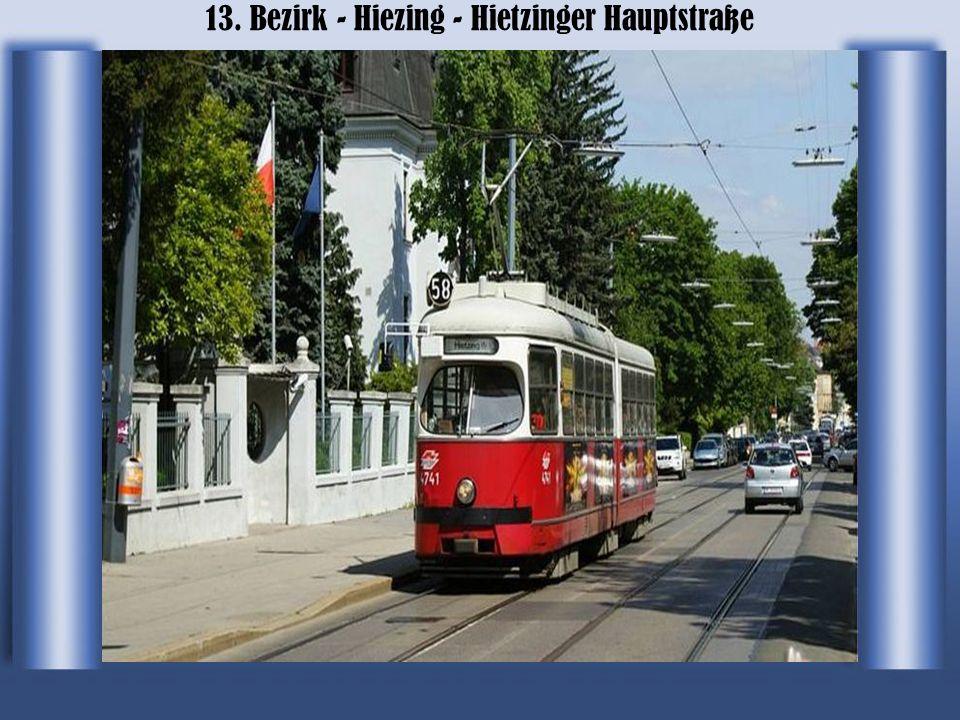 13. Bezirk - Hiezing - Hietzinger Hauptstraße