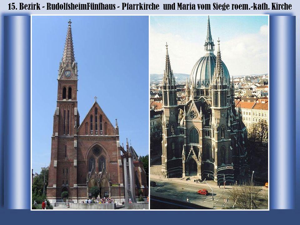 15. Bezirk - RudolfsheimFünfhaus - Pfarrkirche und Maria vom Siege roem.-kath. Kirche