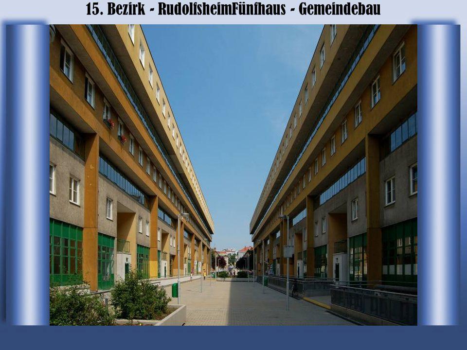 15. Bezirk - RudolfsheimFünfhaus - Gemeindebau