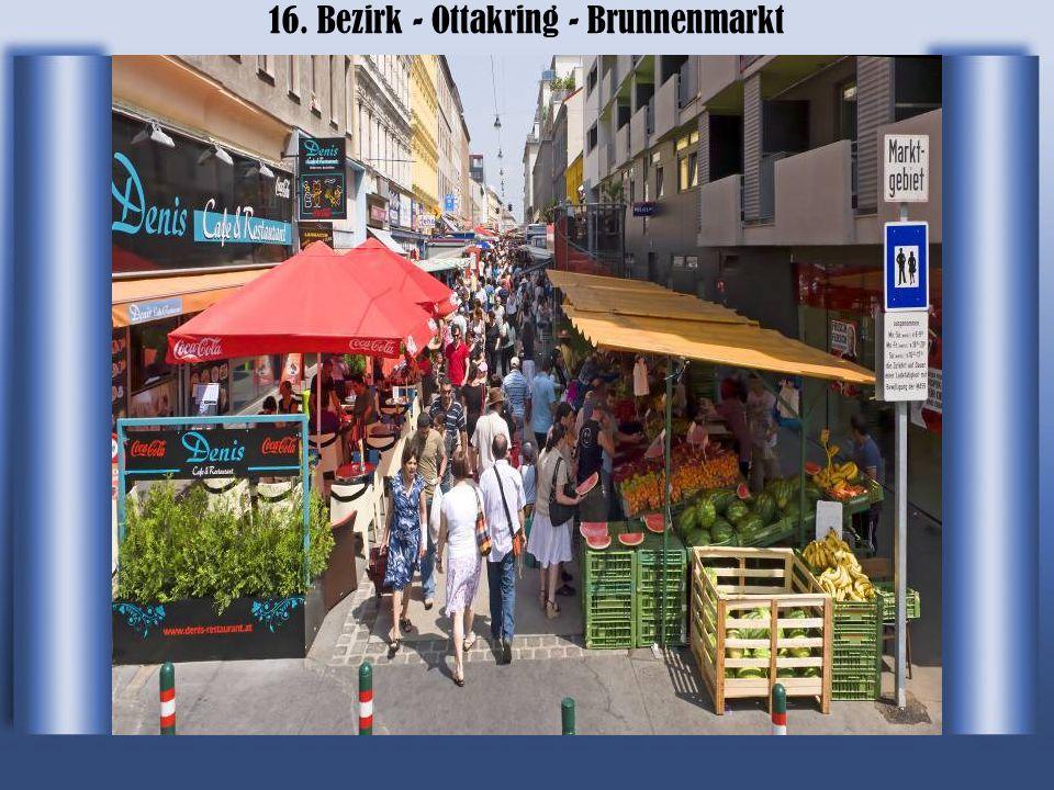16. Bezirk - Ottakring - Brunnenmarkt