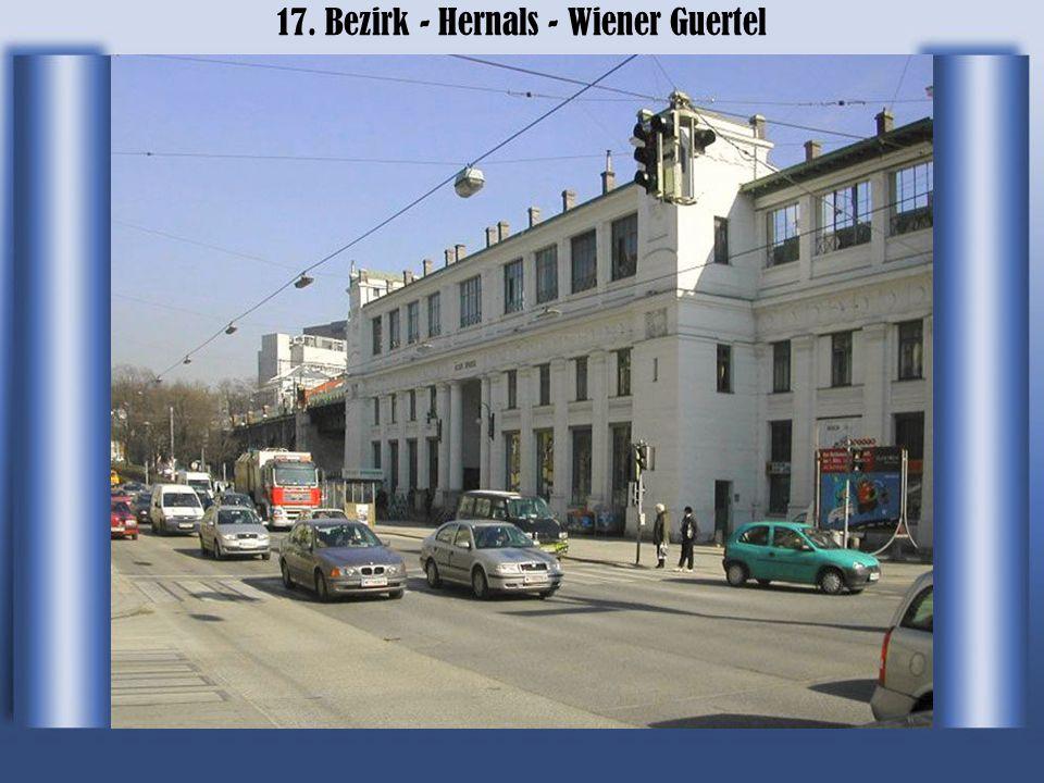 17. Bezirk - Hernals - Wiener Guertel