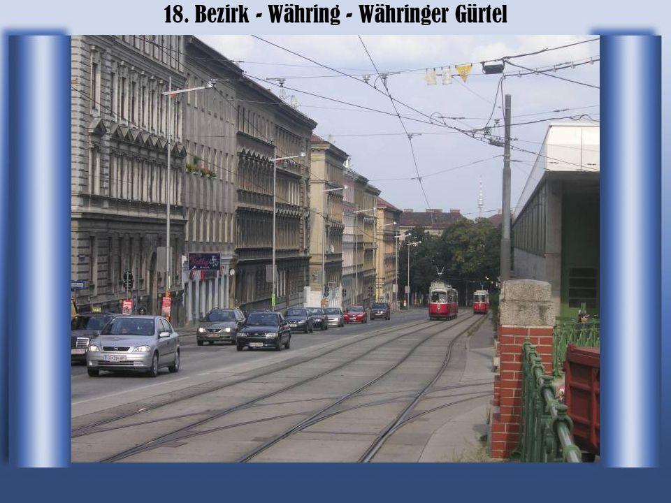 18. Bezirk - Währing - Währinger Gürtel