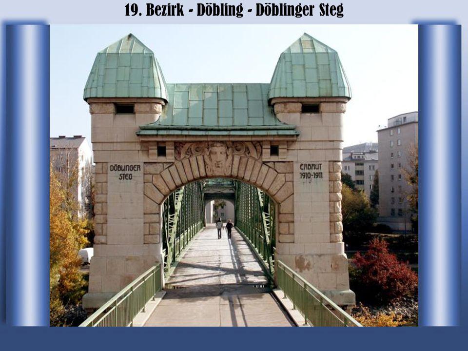 19. Bezirk - Döbling - Döblinger Steg