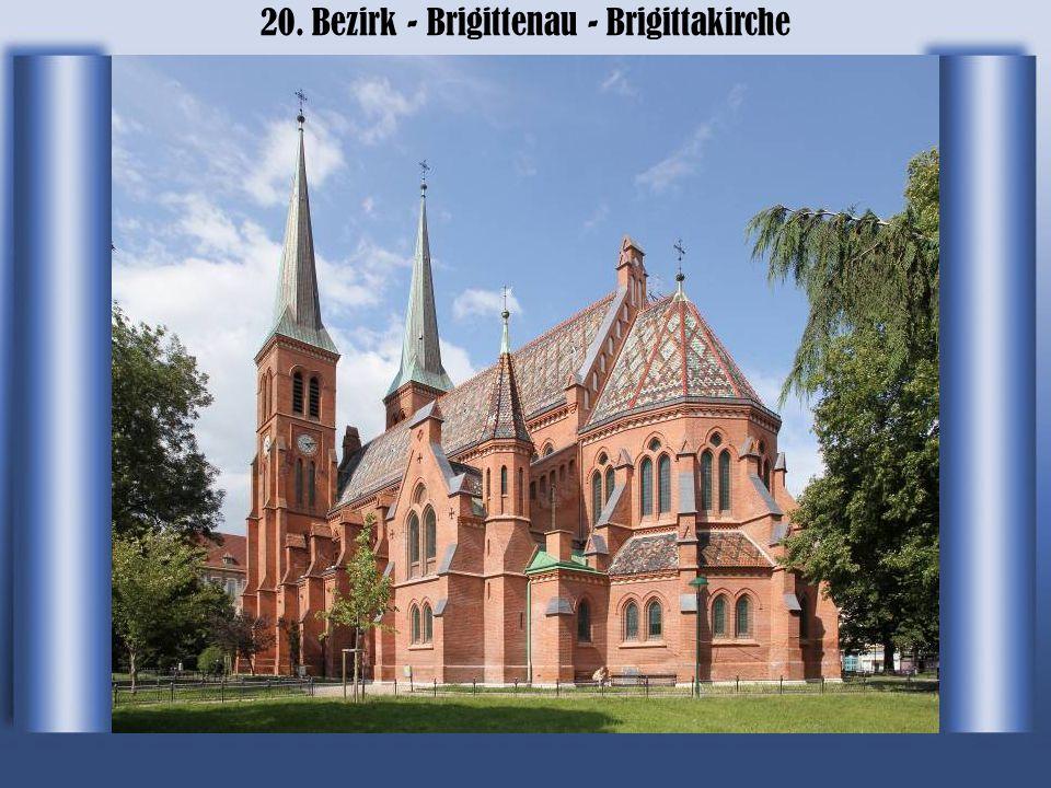20. Bezirk - Brigittenau - Brigittakirche