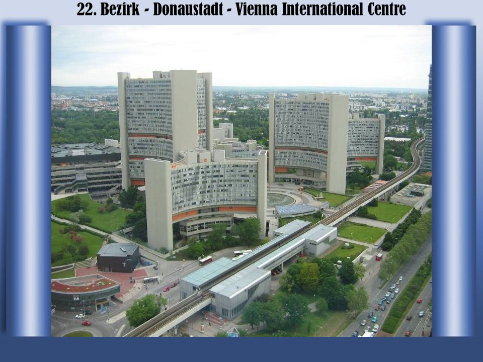 22. Bezirk - Donaustadt - Vienna International Centre