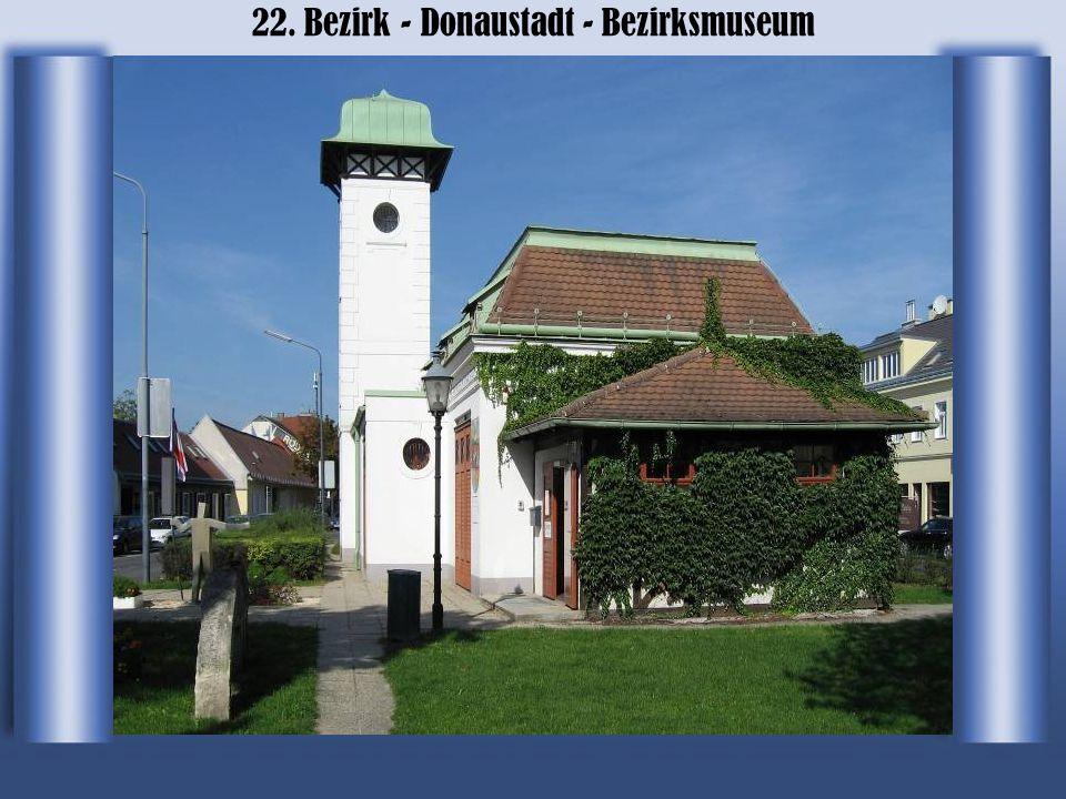 22. Bezirk - Donaustadt - Bezirksmuseum