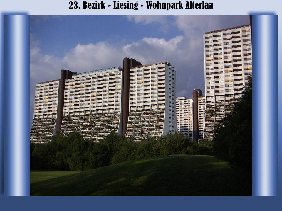 23. Bezirk - Liesing - Wohnpark Alterlaa
