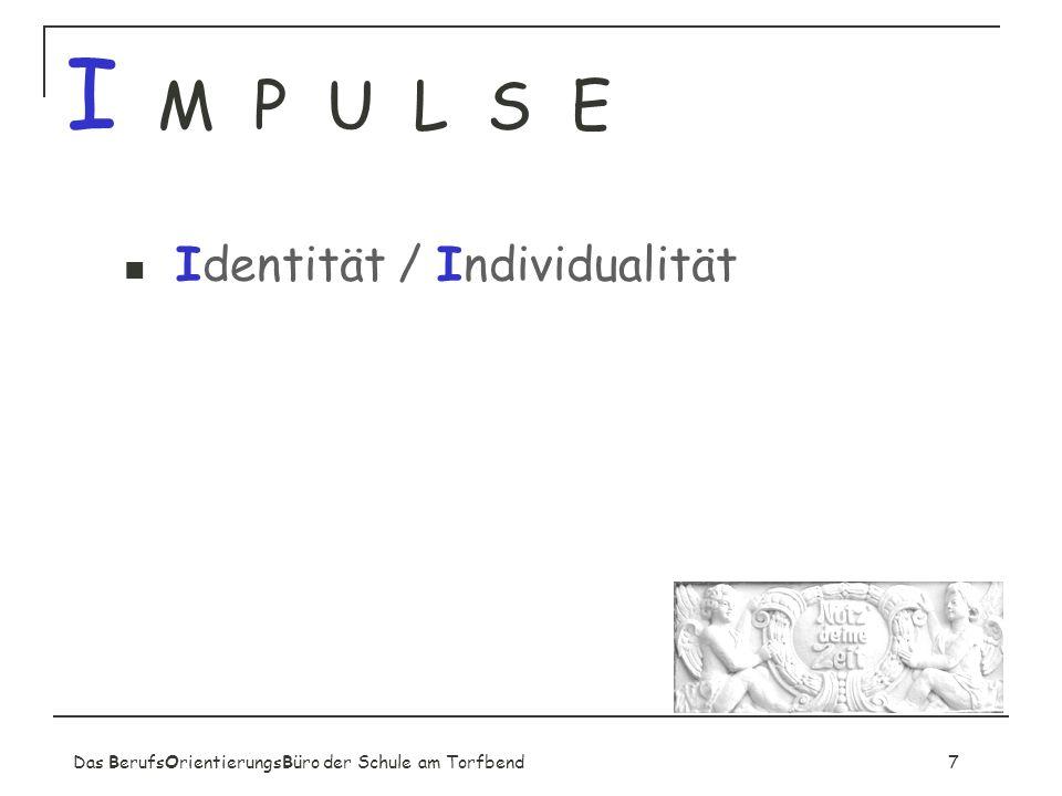 I M P U L S E Identität / Individualität
