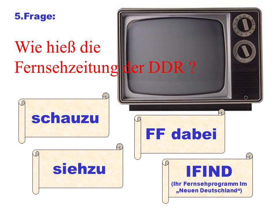 (Ihr Fernsehprogramm Im