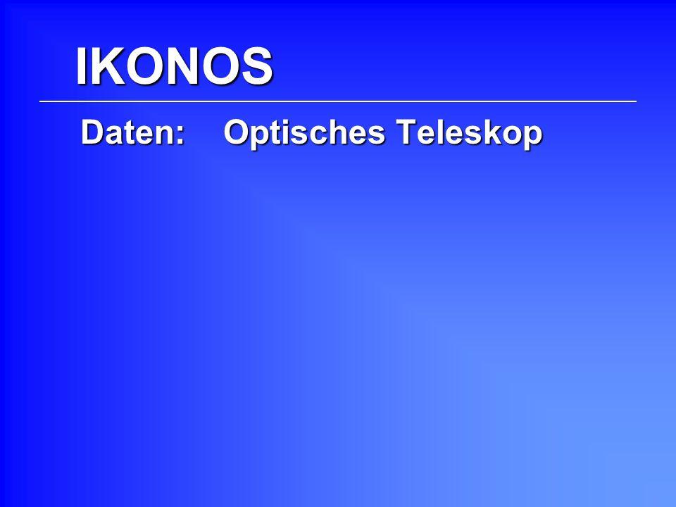Daten: Optisches Teleskop