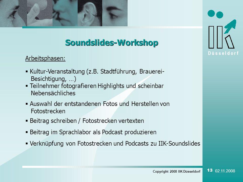 Soundslides-Workshop