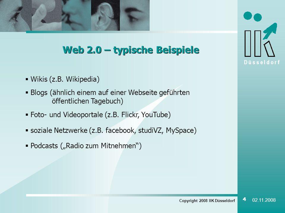 Web 2.0 – typische Beispiele