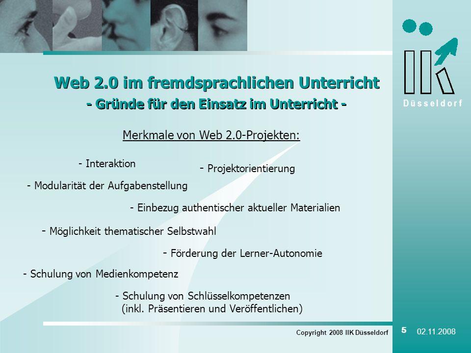 Web 2.0 im fremdsprachlichen Unterricht