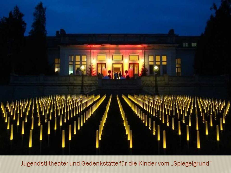 """Jugendstiltheater und Gedenkstätte für die Kinder vom """"Spiegelgrund"""
