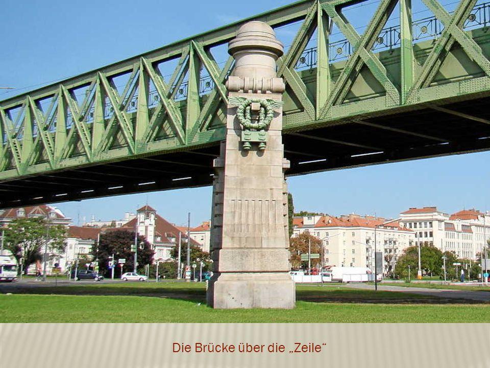 """Die Brücke über die """"Zeile"""