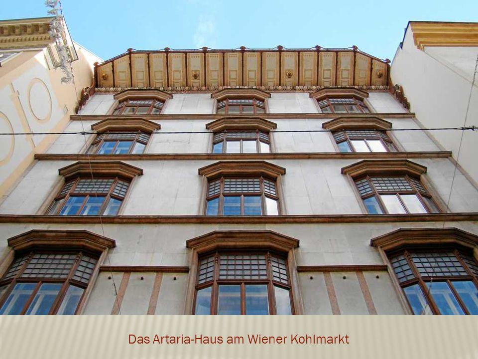 Das Artaria-Haus am Wiener Kohlmarkt