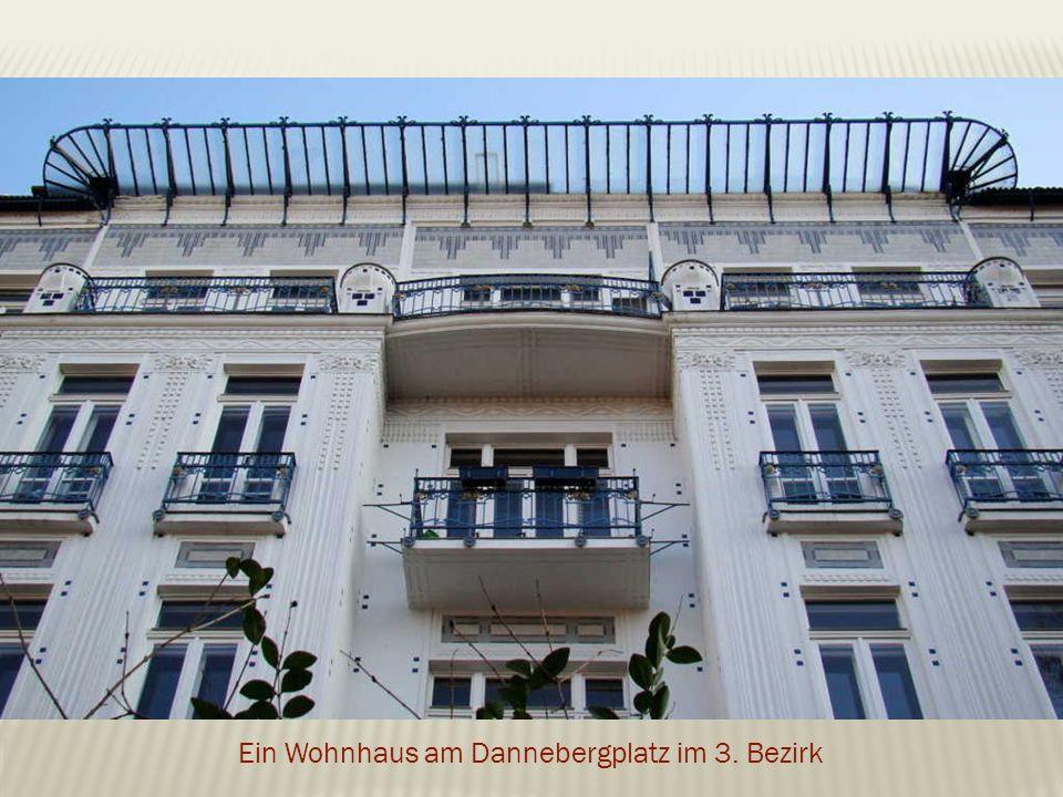 Ein Wohnhaus am Dannebergplatz im 3. Bezirk