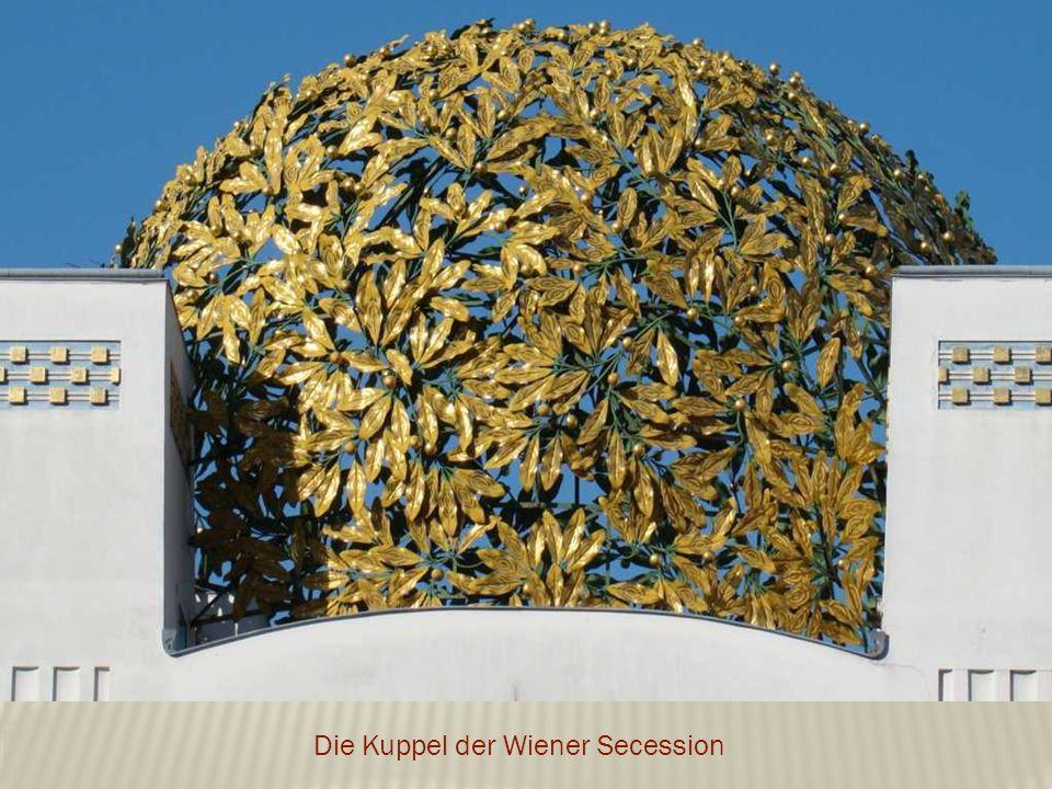 Die Kuppel der Wiener Secession