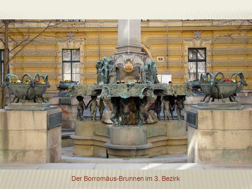 Der Borromäus-Brunnen im 3. Bezirk