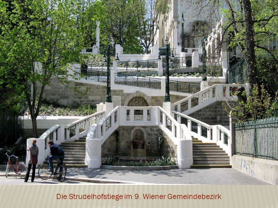 Die Strudelhofstiege im 9. Wiener Gemeindebezirk
