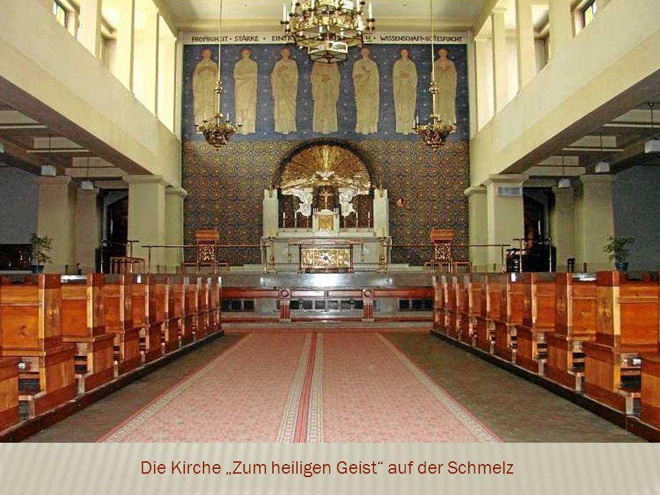 """Die Kirche """"Zum heiligen Geist auf der Schmelz"""