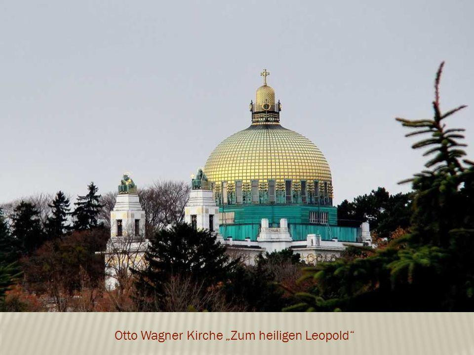"""Otto Wagner Kirche """"Zum heiligen Leopold"""