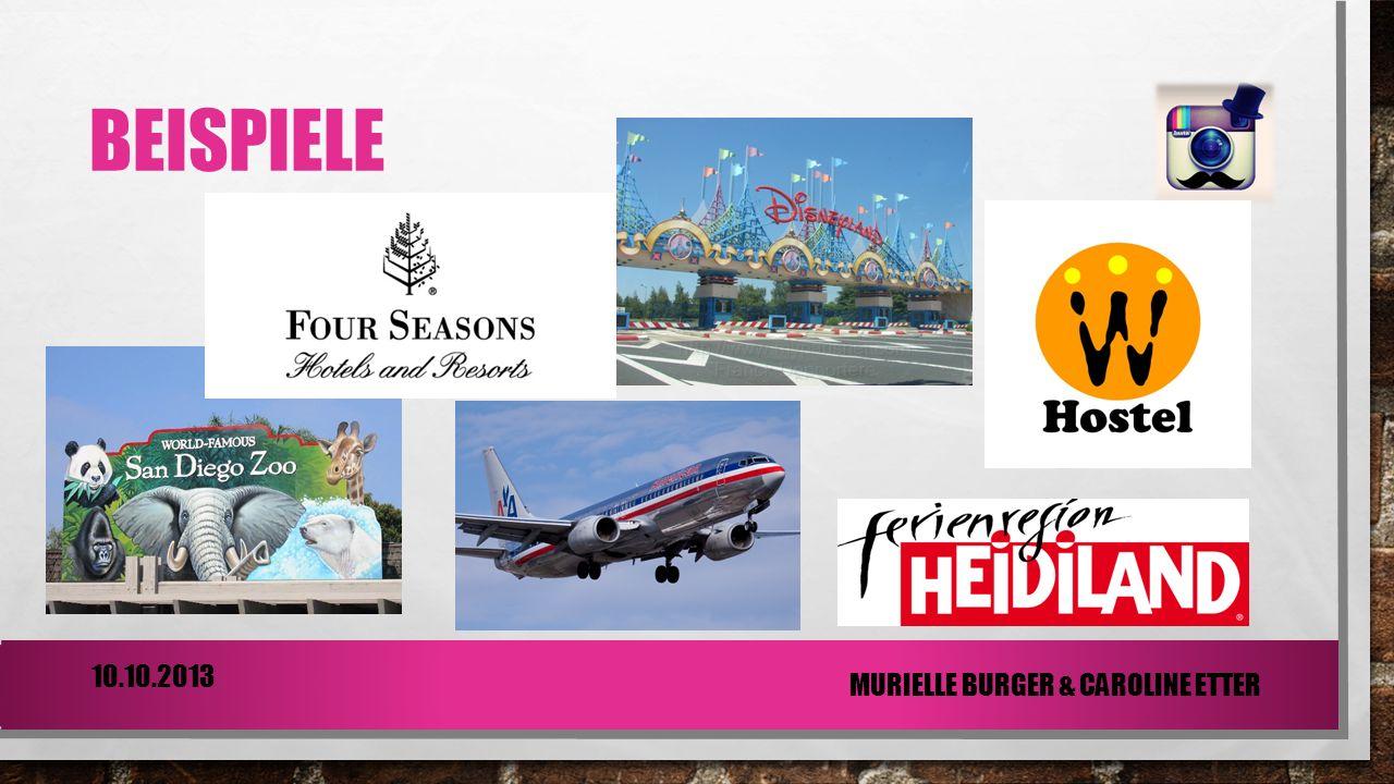 Beispiele 10.10.2013 Murielle Burger & Caroline Etter