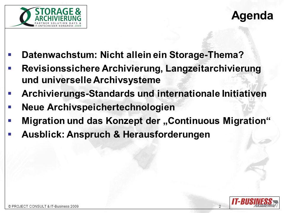Agenda Datenwachstum: Nicht allein ein Storage-Thema