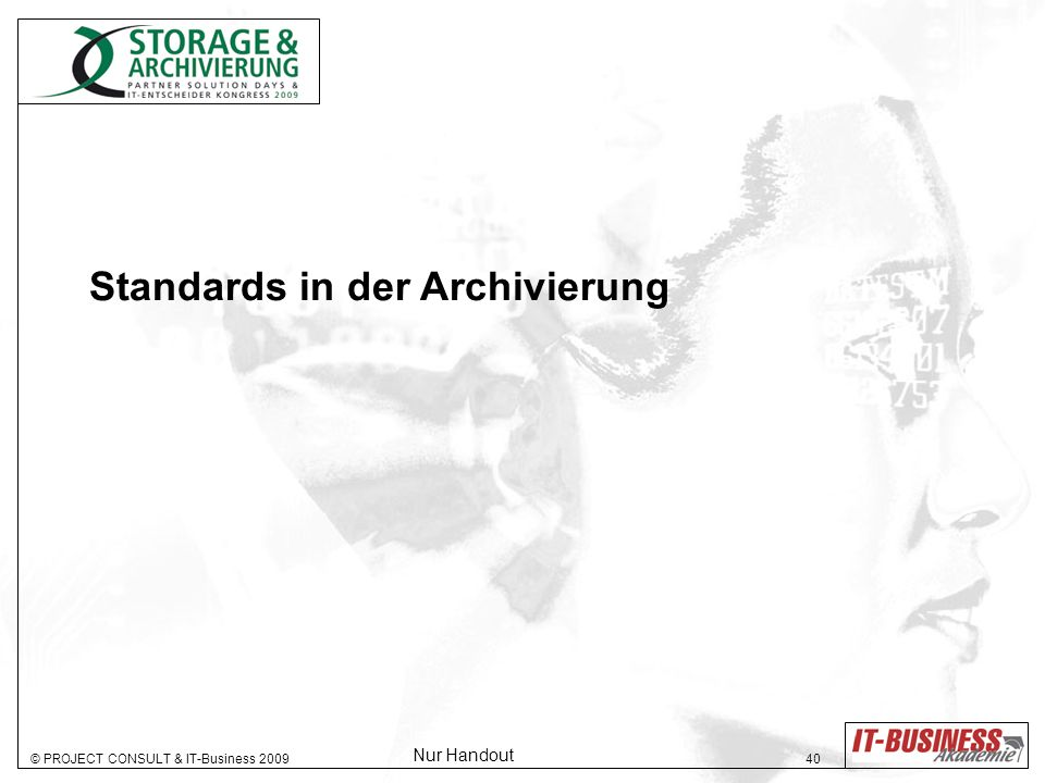Standards in der Archivierung
