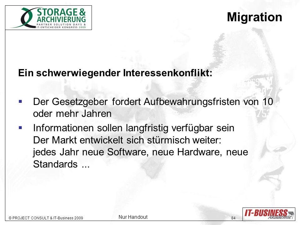 Migration Ein schwerwiegender Interessenkonflikt: