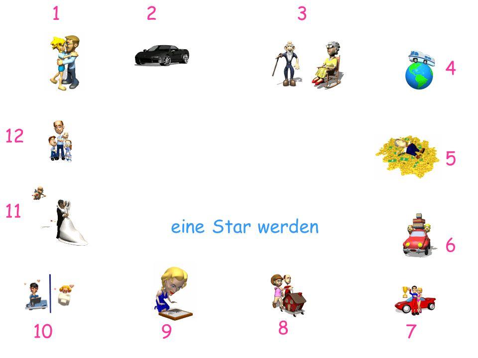 1 2 3 4 12 5 11 eine Star werden 6 8 10 9 7